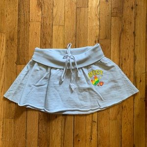 Juicy couture grey early 2000s mini skirt size S